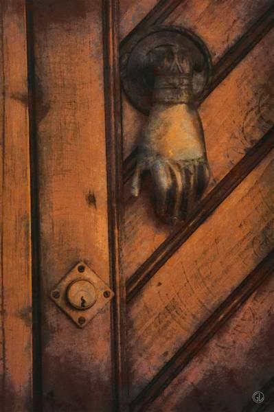 Wall Art - Digital Art - Knock Knock by Gun Legler