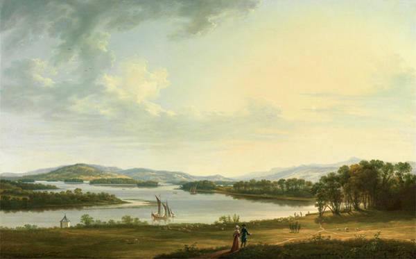Wall Art - Painting - Knock Ninney And Lough Erne From Bellisle by Litz Collection