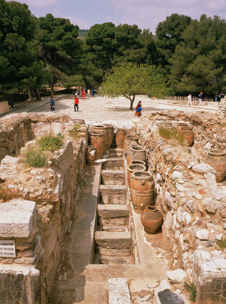 Historic Site Photograph - Knossos Palace Archaeological Site by Bjorn Svensson/science Photo Library