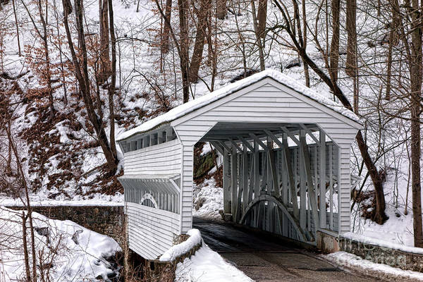Wall Art - Photograph - Knox Covered Bridge by Olivier Le Queinec