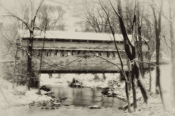 Forge Wall Art - Photograph - Knox Valley Forge Covered Bridge by Bill Cannon