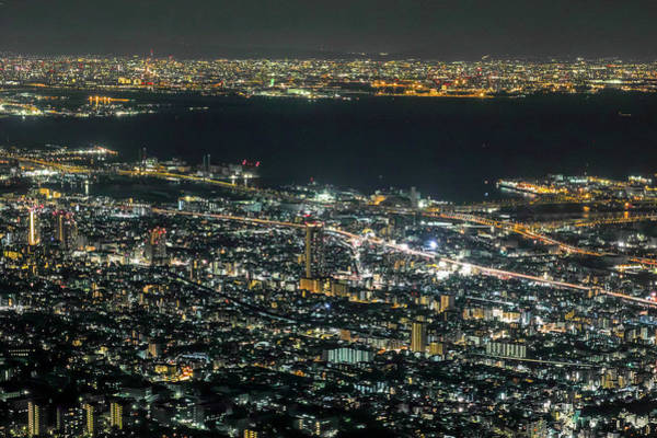 Photograph - Kobe Night View by I Love Photo And Apple.
