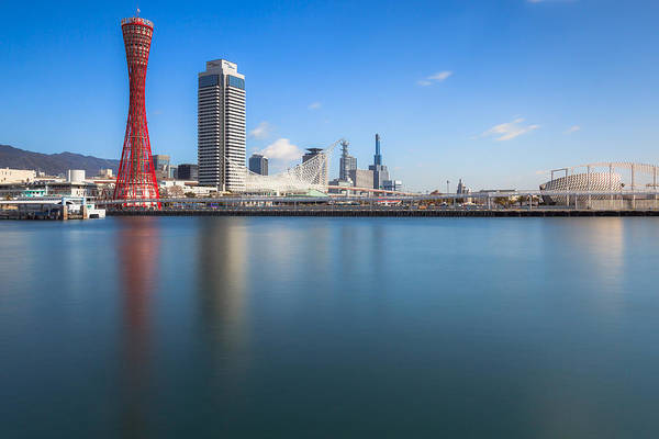 Photograph - Kobe Port Island Tower by Hayato Matsumoto