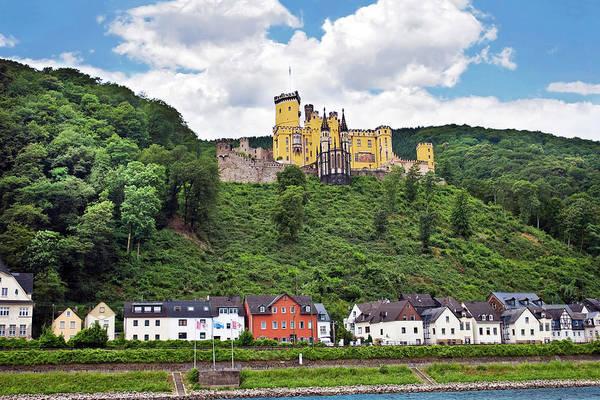 Fortification Photograph - Koblenz, Germany, Stolzenfels Castle by Miva Stock