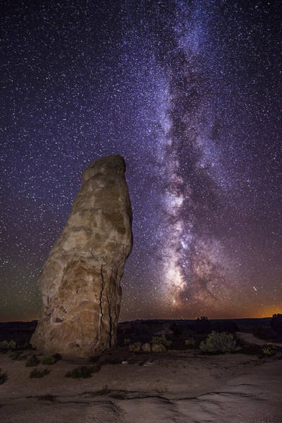 Art Print featuring the photograph Kodachrome Galaxy by Dustin  LeFevre