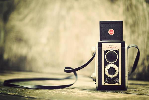 Photograph - Vintage Kodak Duaflex II Camera by Terry DeLuco