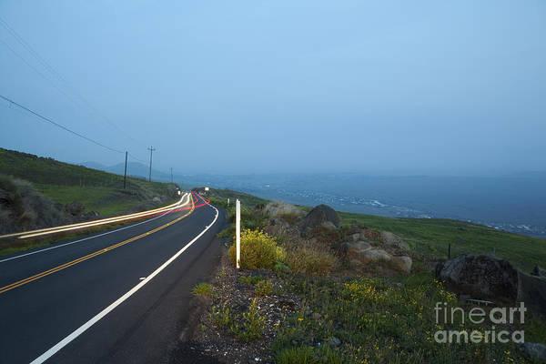 Photograph - Kohala Mountain Road At Dusk by Charmian Vistaunet