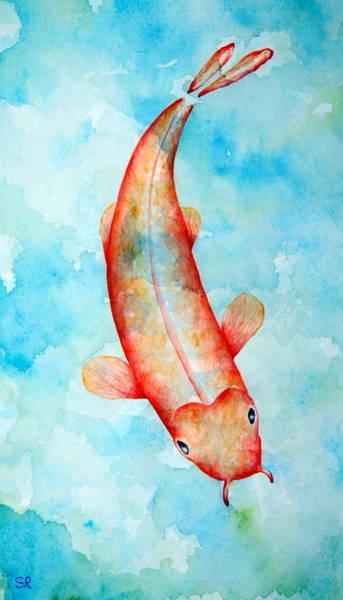 Koi Art Print by Sarah Rosedahl