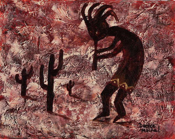 Painting - Kokopelli by Darice Machel McGuire