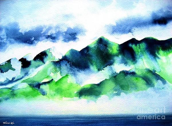 Painting - Komohana by Frances Ku