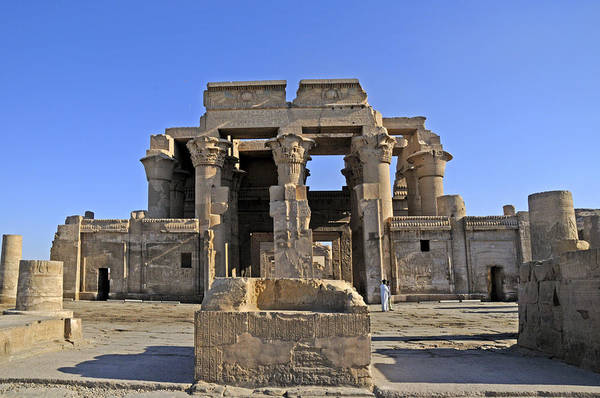 Photograph - Komombo Temple Egypt by Brenda Kean