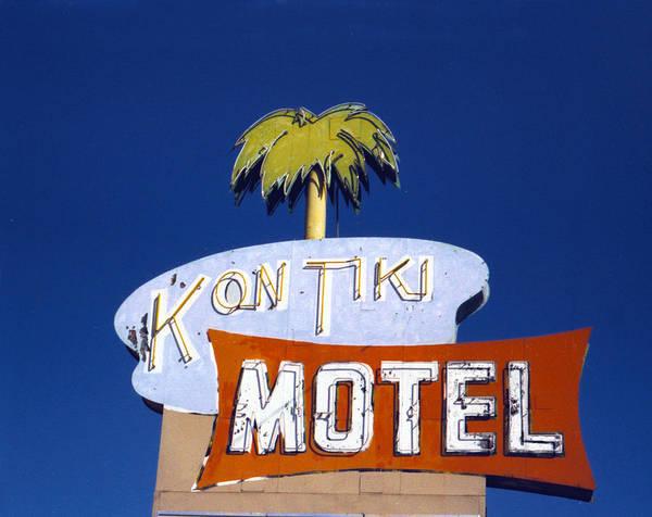 Photograph - Kon Tiki Motel by Matthew Bamberg