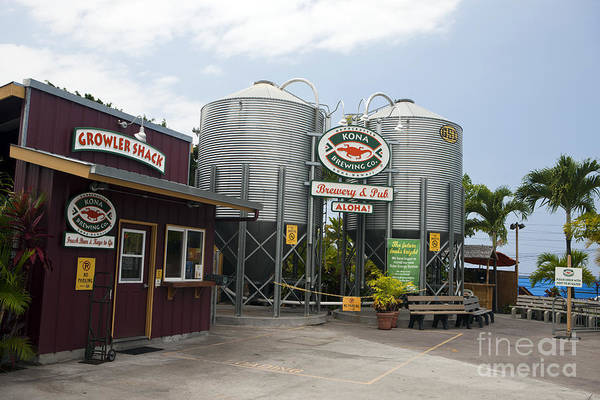 Wall Art - Photograph - Kona Brewing Company by Jason O Watson
