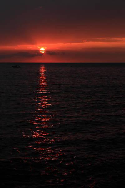 Photograph - Kona Sunset by James Eddy