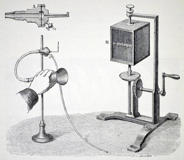Demonstration Photograph - Konig's Flame Manometer by Universal History Archive/uig