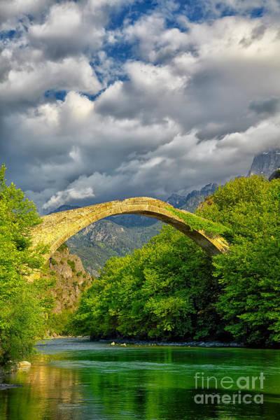 Wall Art - Photograph - Konitsa Bridge by Gabriela Insuratelu