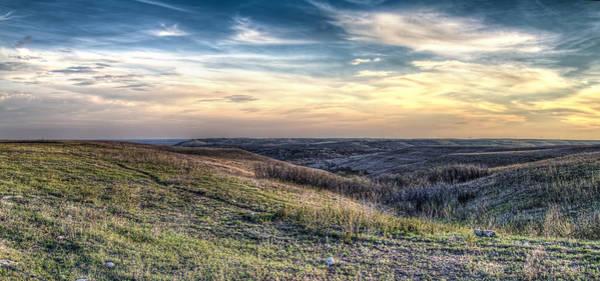 Flint Hills Photograph - Konza Prairie by Corey Cassaw