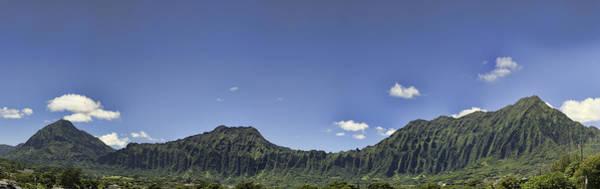 Photograph - Ko'olau Range Panorama by Dan McManus