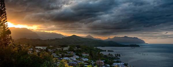 Photograph - Koolau Sunset by Dan McManus