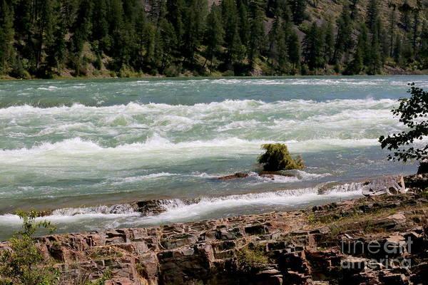 Photograph - Kootenai Falls Montana by Carol Groenen