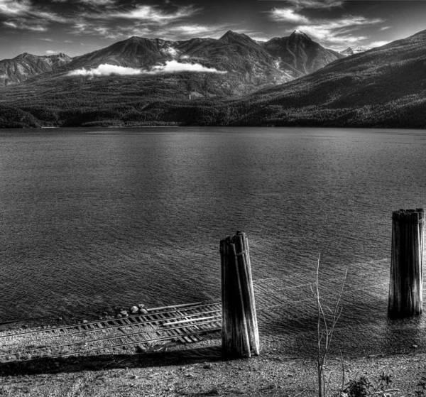 Photograph - Kootenai Lake At Kaslo Bc by Lee Santa