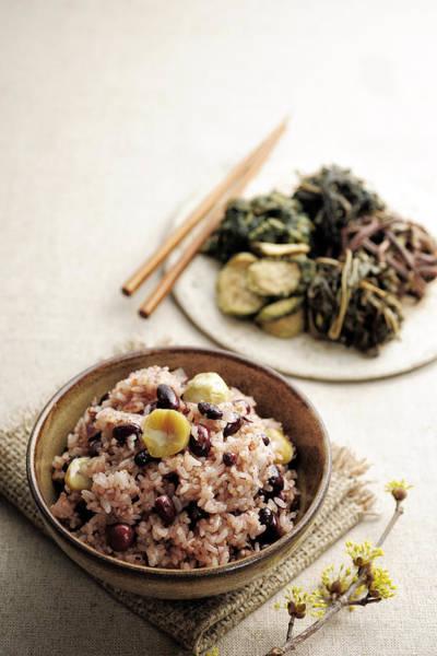 Eating Photograph - Korean Dish, Ogokbap by Cooksimage / Multi-bits
