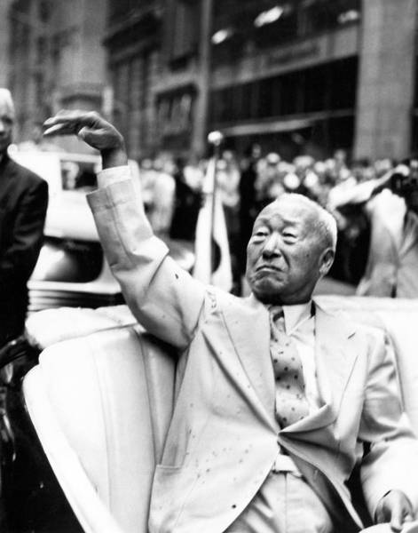 Photograph - Korean President Syngman Rhee by Underwood Archives