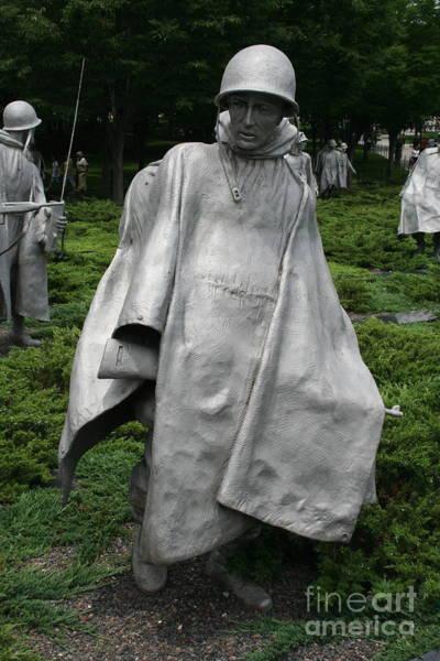 Photograph - Korean War Veterans Memorial 2 by Jim Gillen
