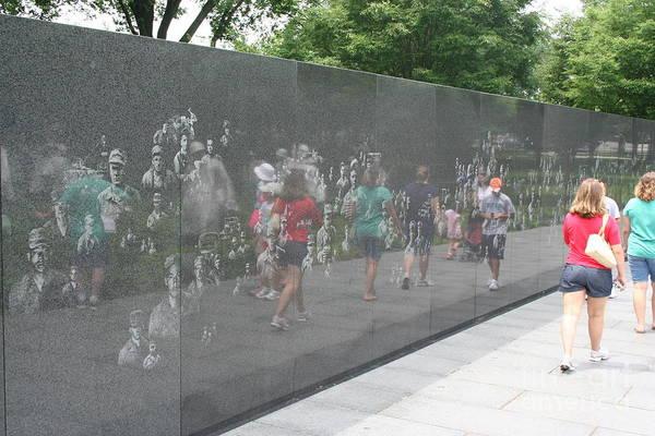 Photograph - Korean War Veterans Memorial by Jim Gillen