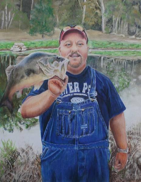 Korey Love Fishing Art Print