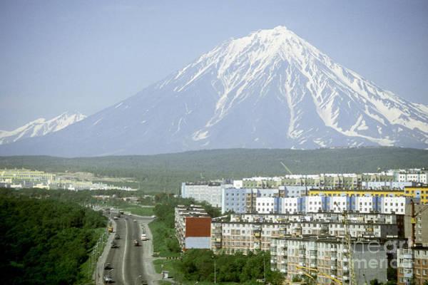 Kamchatka Photograph - Koryaksky Volcano by Mark Newman