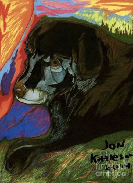 Drawing - Kramer by Jon Kittleson