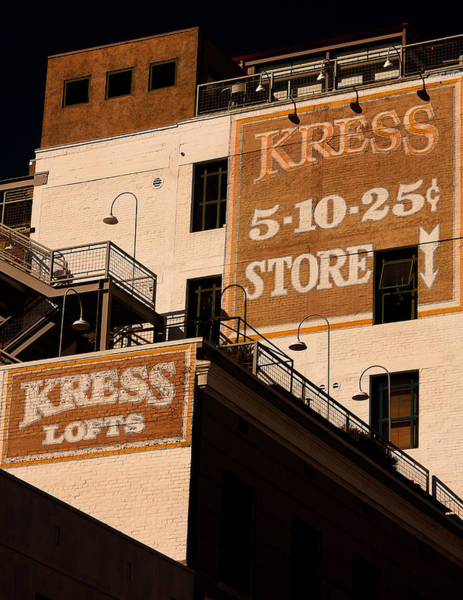 Kress Ghost Signs By Denise Dube Art Print