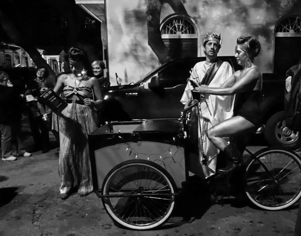 Photograph - Krewe Du Vieux Parade New Orleans by Louis Maistros