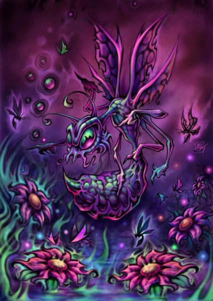 Wall Art - Digital Art - Krishna Bug by David Bollt