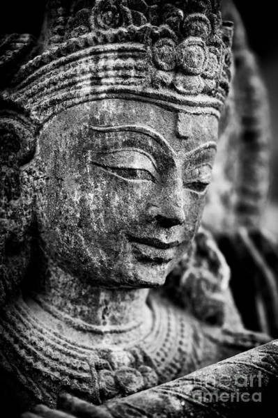 Divine Love Wall Art - Photograph - Krishna Monochrome by Tim Gainey