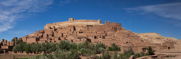 Ait Benhaddou Photograph - Ksar Ait Benhaddou Along The Ounila by Panoramic Images