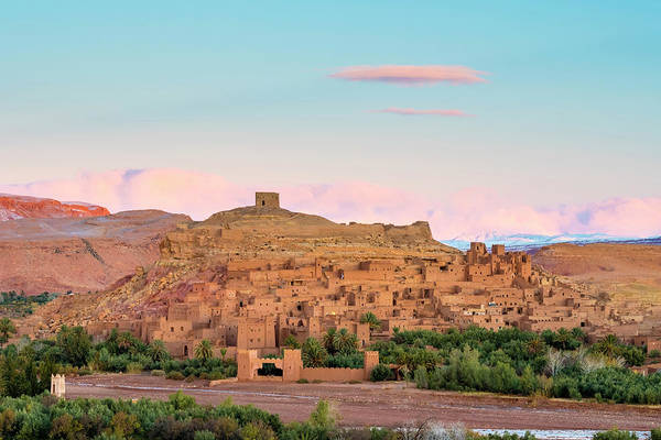 Ait Benhaddou Photograph - Ksar Of Ait-ben-haddou At Sunrise by Jason Langley