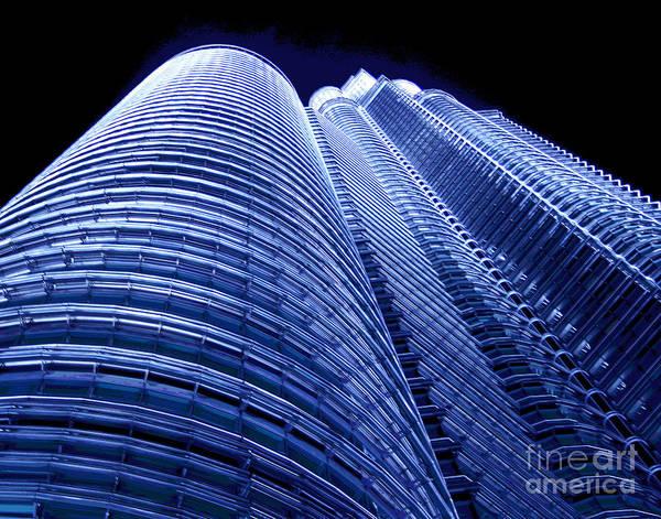 Photograph - Kuala Lumpur Lights by Larry Oskin