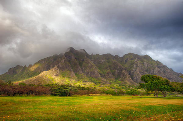 Photograph - Kualoa Massif by Dan McManus