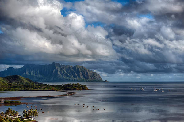 Photograph - Kualoa Morning Show by Dan McManus