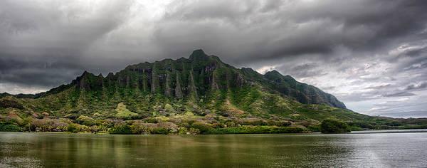 Photograph - Kualoa Panorama by Dan McManus