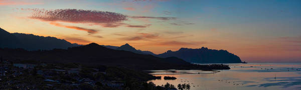 Photograph - Kualoa Sunset Panorama by Dan McManus