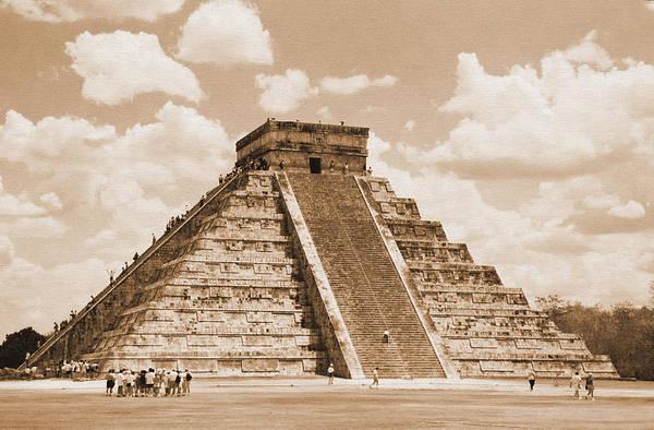 Photograph - Kukulkan Pyramid by Kirt Tisdale
