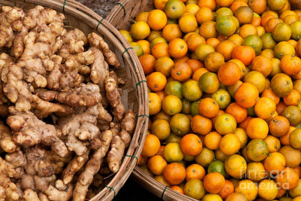 Rick Piper Photograph - Kumquats And Ginger by Rick Piper Photography