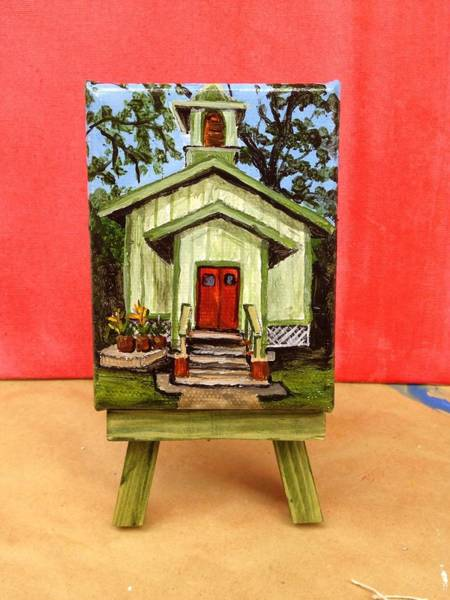 Painting - Kumulani Chapel In Kapalua by Darice Machel McGuire