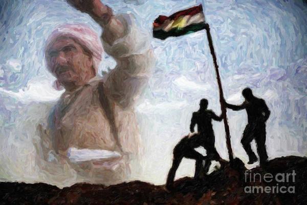 Painting - Kurdistana Rengin by Celestial Images