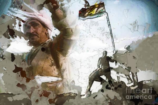 Mixed Media - Kurdistana Rengin by Celestial Images