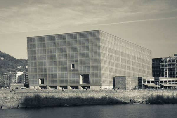 Basque Wall Art - Photograph - Kursaal Convention Center, San by Panoramic Images