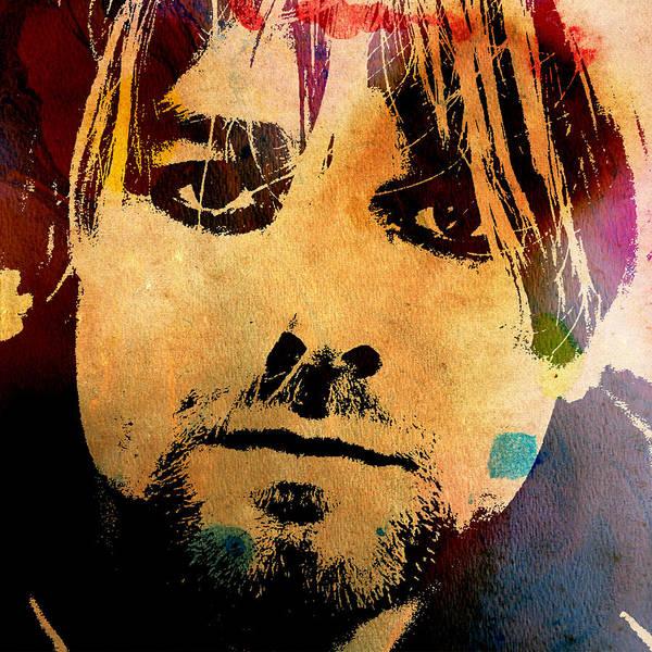 Photograph - Kurt Cobain 3 by Andrew Fare